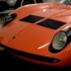 restoration vintage car interior Lamborghini Miura