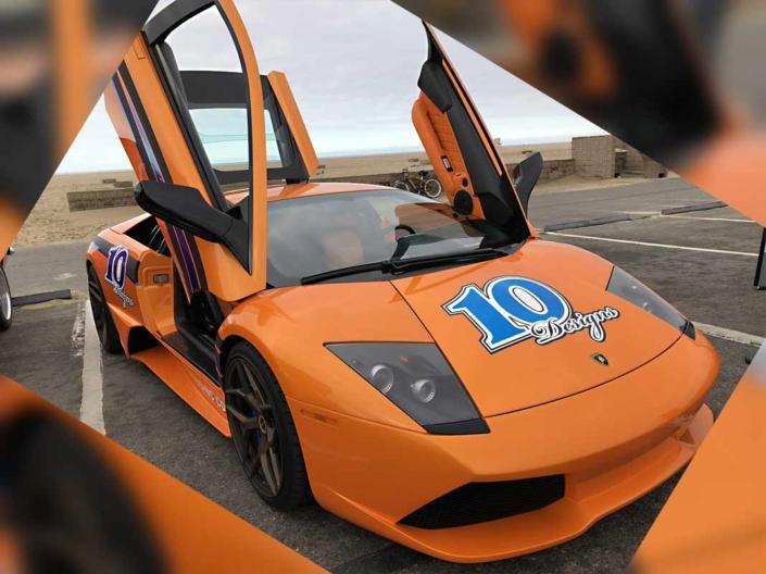 Lamborghini Murcielago interior custom