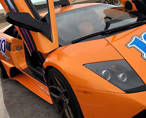 Lamborghini Murilélago luxury car interiors restoration