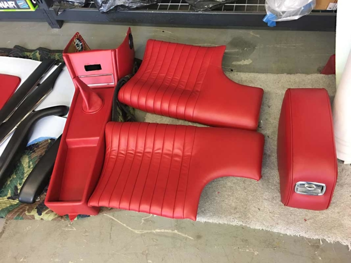 Ferrari 330GT vintage car interiors restoration