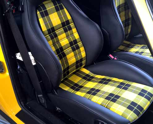 porsche911 car interiors restoration